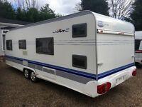 Hobby Caravan 650 Kfu Prestige (2006 Model) 6 Berth With Bunk Beds. Tabbert/Fendt