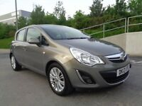 2013 VAUXHALL CORSA AUTOMATIC PETROL, NEW SHAPE,5DOOR ,SERVICE HISTORY,HALF LEATHER,3MONTHS WARRANTY