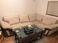 Corner sofa right hand