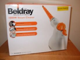 STEAM CLEANER - Beldray 10 in 1