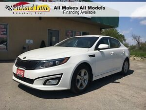 2015 Kia Optima $103.06 BI WEEKLY! $0 DOWN! CERTIFIED! 6 SPEED A
