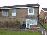 Large double room in shared 2 bed maisonette, on bus route for QE X64,furnished if required