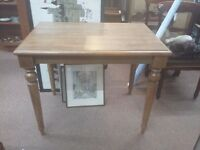 Ercol dining table small medium solid wood
