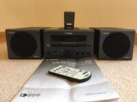 Yamaha MCR-40/140 Micro System for iPod