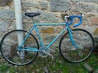 Electric blue Raleigh road bike - fantastic condition