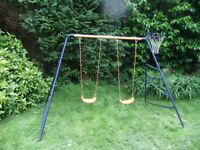 Double childs swing