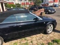audi a4 cabriolet 1.8 turbo s-line
