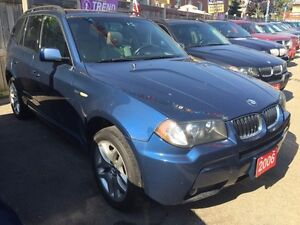 2006 BMW X3 3.0i M-Sport Package Leather Panorama Roof Alloys