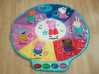 Peppa pig activity mat