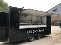 Twin Axle Catering Trailer 14ft Fully Certified Excellent Condition