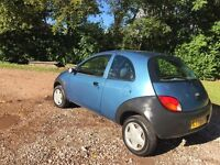 Ford ka 1.3 genuine 46121 miles no rust free fuel cap mot July 2017 CD player low insurance 48+ mpg