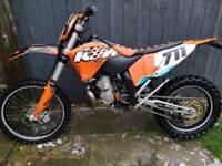 Ktm exc250 08
