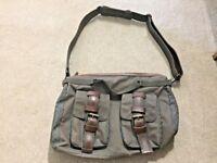 Ted Baker Brown Zip Holdall Large Shoulder Duffle Gym Weekend Bag Mens