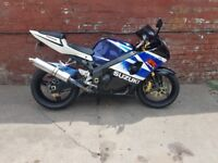 SUZUKI GSXR 1000 good condition wifh loads of extras