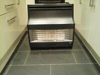 valor gas fire for sale in black