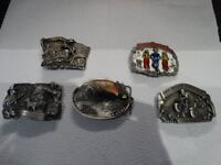 Americal Belt Buckles, from the 1980-90s