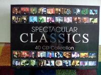 unused box set 40 cds-Spectacular classics