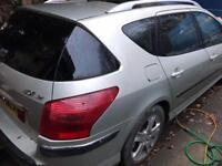 2007 Peugeot 407 SW Automatic Estate Auto 2.0 Diesel HDI SPARES REPAIR