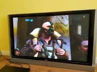 "50"" Lg plasma TV & Sony Blu-Ray Player"