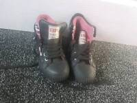 British Knights Black Trainers size 4