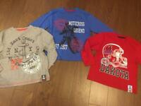 3x brand new boys tops size 6-7 NEW