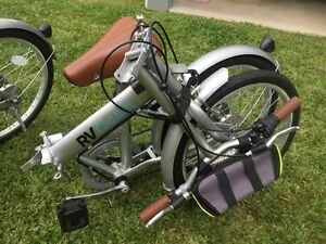 "2 x RV Coaster Folding Bicycles 20"" 6 speed Edmonton Cairns City Preview"