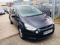 FORD S-MAX 1.8 DIESEL MANUAL TDCI ZETEC 7 SEATERS 6 SPEED 2008