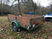 Box Trailer- 6.5ft x 4.0ft. Made from Indespension Kit.