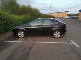 Black Ford Focus Zetec 1.6l Petrol 2011 Great Condition