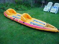 Inflatable Canoe/Kayak
