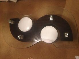 S shaped Coffee Table