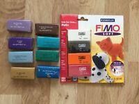 Fimo soft craft modelling blocks
