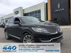 2016 Lincoln MKX Reserve | AWD, CUIR, TOIT, NAVIGATION
