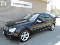 2007 Mercedes-Benz C-Class 230 - HEATED LEATHER SEATS - SUNROOF!