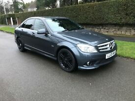 Mercedes Benz C Class 2.1 C250 CDI BlueEFFICIENCY Sport 4dr £8000 WORTH OF EXTRAS