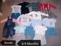 6-9 Months Baby Boy Clothes Bundle