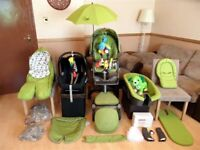 Stokke Xplory V2 Complete Pushchair Pram Stroller Maxi Cosi Cabriofix Car Seat And More