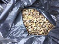 35 bags of garden gravel for sale