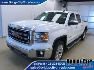 2015 GMC Sierra 1500 SLT- Leather, Heated Seats, NAV, Sunroof!