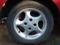 Peugeot Alloy wheels 4 X 108 - 14 inch
