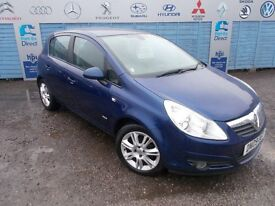 PART X DIRECT OFFERS A VAUXHALL CORSA 1.4 DESIGN WITH A NEW MOT AND SERVICE!!!