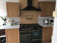 Vintage Green Oven
