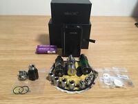 Vaping gear- Smok cube2 3x TFV4 tanks