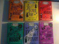 6 'A Murder Most Unladylike Mystery' books by Robin Stevens