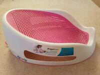 Angelcare bath support in pink