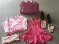 Ballet/Tap outfit and accessories