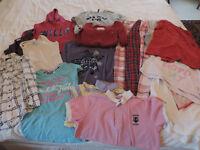 A Huge Bundle of Girls Clothes - labels like Fat Face, Superdrug & Jack Wills.