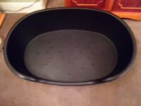 XXL plastic dogs bed. NEW