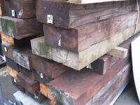 Authentic Railway Sleepers For Sale. Long Lasting & Very Good Against Rough Weather! *£20 Each*