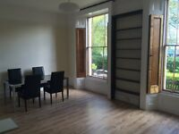 Stunning newley refurbished 1 bed Victorian Garden Flat